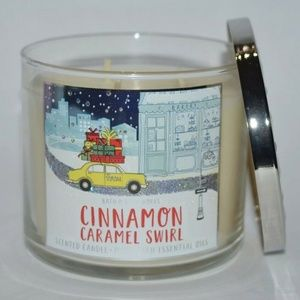 New Bath Body Works Cinnamon Caramel Swirl Candle